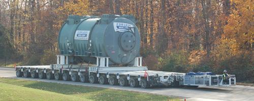 Hydraulic Platform Trailers : Goldhofer hydraulic platform trailers edwards moving