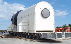 Nuclear-Goldhofer-Trailer-Transport