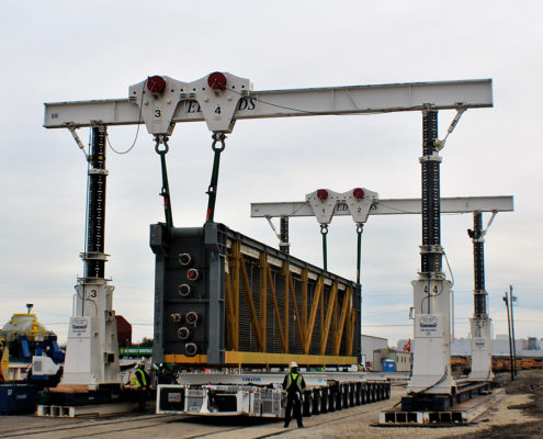 HRSG Rail Offload